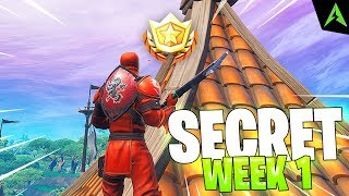 Sahi Secret * WEEK 1 * Season 8 in Fortnite..
