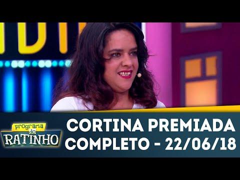Cortina Premiada | Programa do Ratinho (22/06/2018)