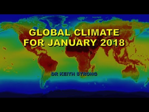 JANUARY 2018 GLOBAL CLIMATE REPORT