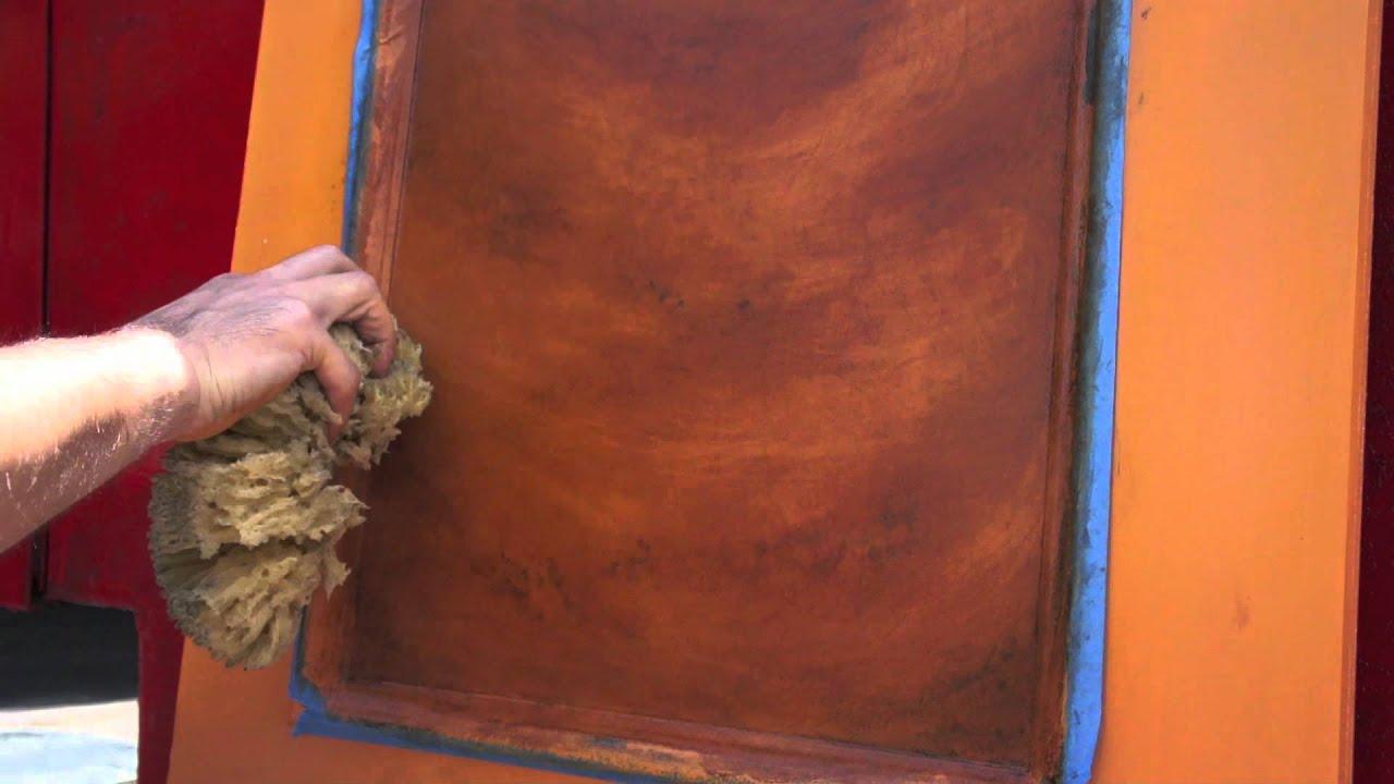 Jeff Pollastro Paints Imitation Wood  YouTube