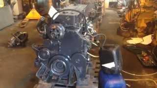 Запуск двигателя CUMMINS M11 celect+  +7(495)920-6777 www.gruzrazbor.ru