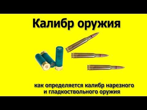 Калибр оружия   Как определяется калибр нарезного и гладкоствольного оружия