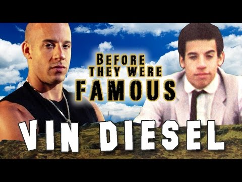 VIN DIESEL - Before They Were Famous