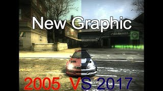 Need For Speed Most Wanted - Ultra Graphics Mod 2017