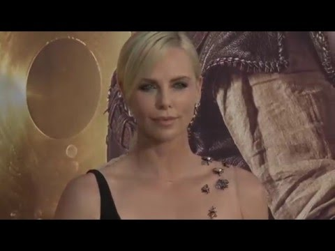 The Huntsman Winter's War LA Premiere Red Carpet - Charlize Theron, Emily Blunt, Chris Hemsworth