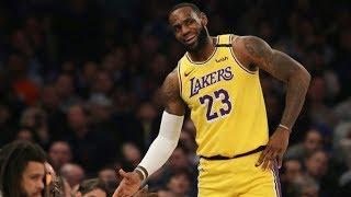 Lakers Back vs Knicks! Davis 2 LeBron Full Court! 2019-20 NBA Season