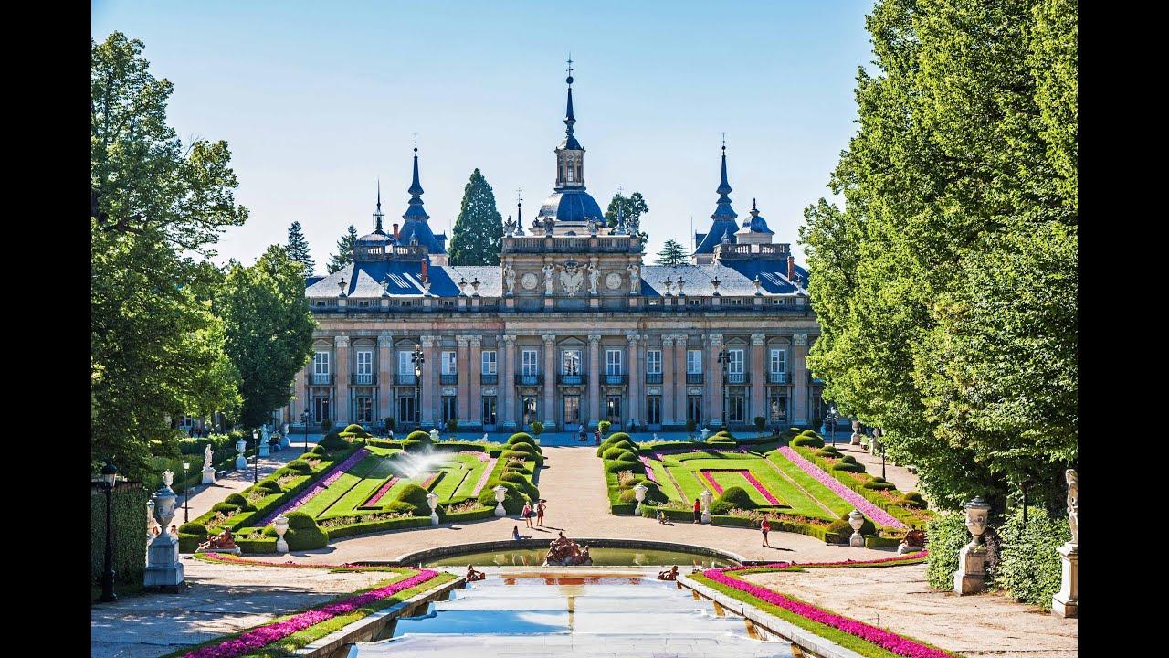 PALACIOS REALES de: Madrid - La Granja de San Ildefonso - El Escorial - Aranj...