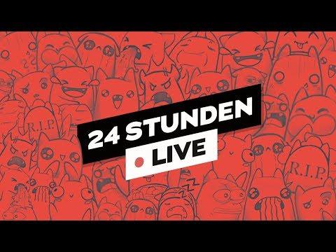 24h Stream! Part 1 🔴LIVE | ungespielt