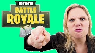 Fortnite Battle Royale - Kid Gets Lectured On How To Treat a Woman