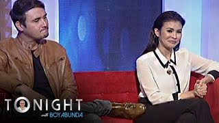 TWBA: Is there an awkward moment between Gelli and John in the set of Magpahanggang Wakas?