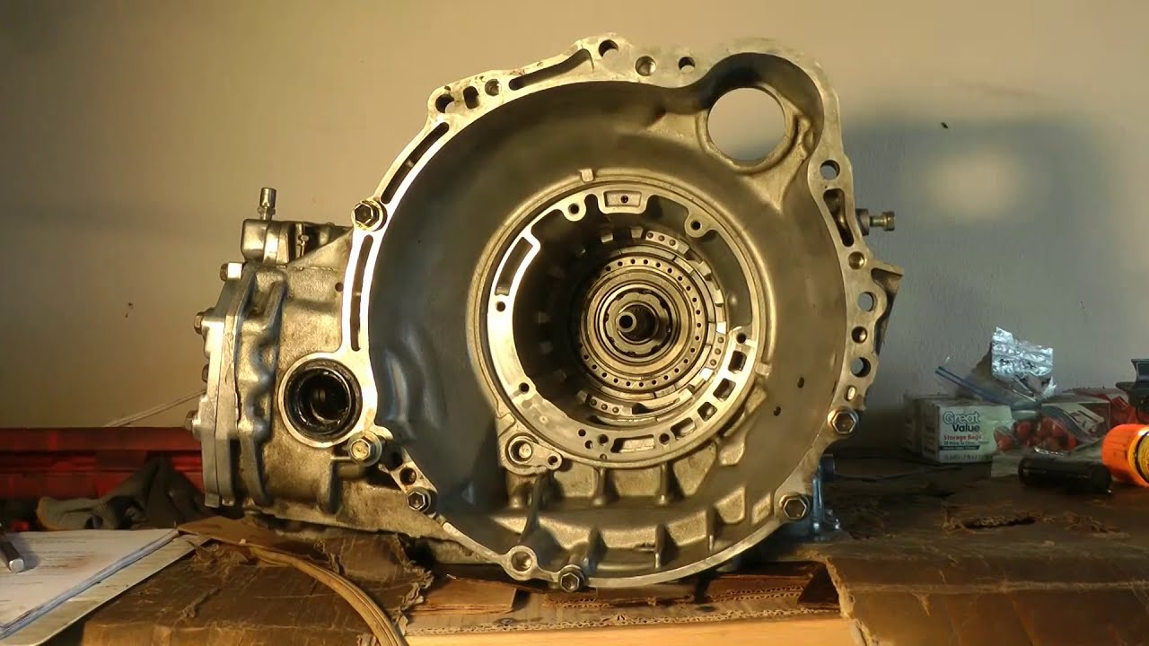 Rebuild Automatic Transmission >> Part 6 (of 10) Transmission Assembly - Rebuild 1994 Toyota ...