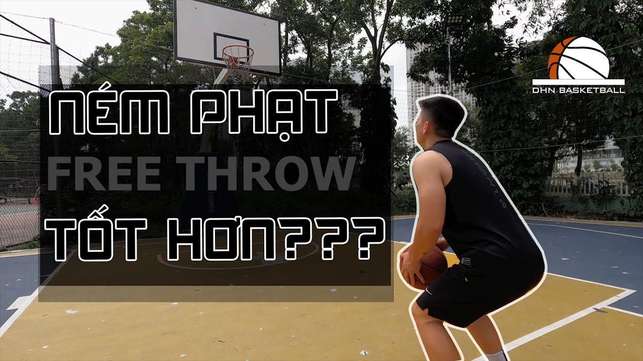 Ném phạt ỔN ĐỊNH và HIỆU SUẤT hơn??? / EASY Free Throw Shooting Tips