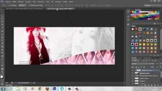 Capa para Facebook - PhotoShop CS6