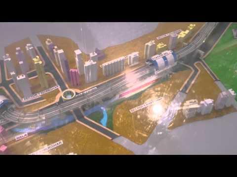 Navi Mumbai Metro Model
