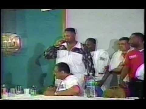 Larry Holmes/Trevor Berbick Street Brawl from YouTube · Duration:  2 minutes 53 seconds  · 469000+ views · uploaded on 14/05/2008 · uploaded by TheBoxingGuru