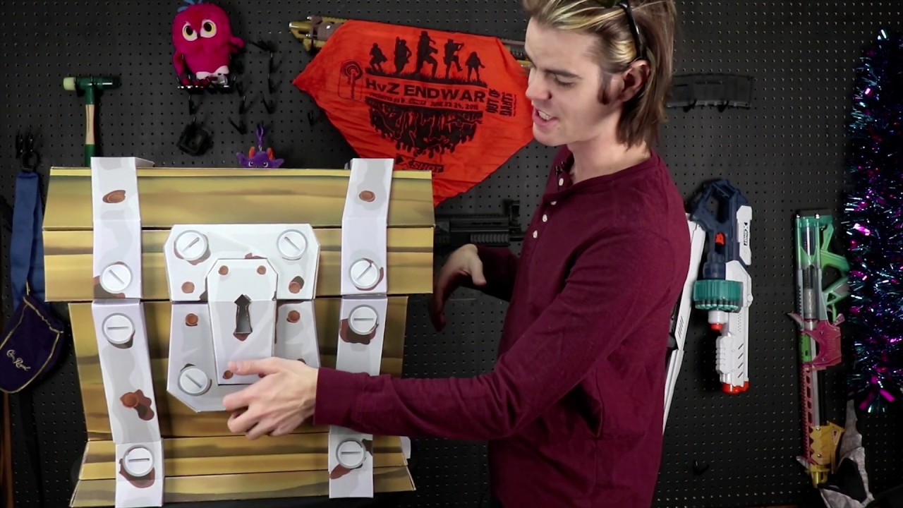Real Life Loot Chest Unboxing The Ultimate Fortnite Fan Package