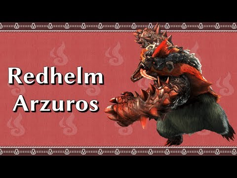 Monster Hunter XX Switch | A to Z in HD: Redhelm Arzuros