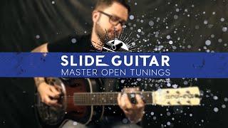 Étape 2: Création De Blues Licks En Open D Tuning | Guitare Slide Open Master Accordages De Guitare Zoom