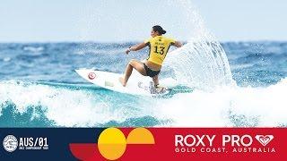 Tyler Wright's Explosive Round One Comeback - Roxy Pro Gold Coast 2017