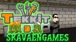 Lets Play - Minecraft Tekkit - EP15  - Running cable, setting up the Water Mill