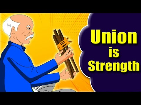 Union is Strength | Moral Stories For Kids | Short Story for Kids