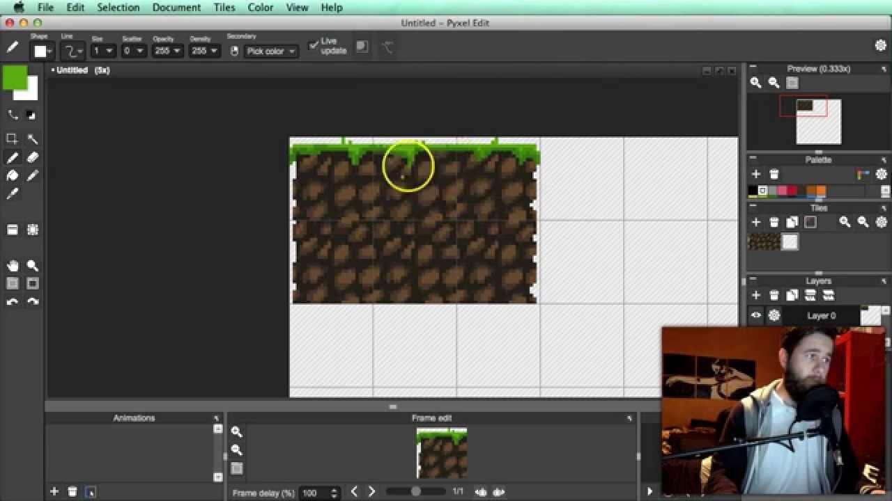 How To Pixel Art Tutorial Part 10: Tile Basics