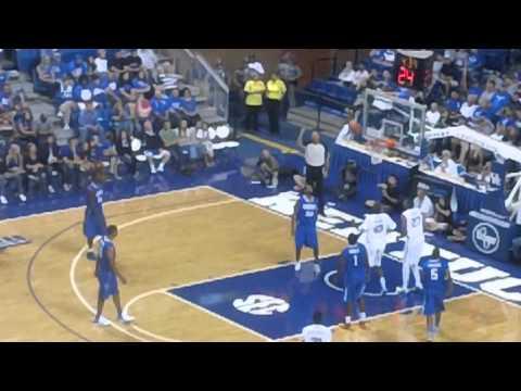 Walter McCarty Hits 3 in Kentucky Alumni Game