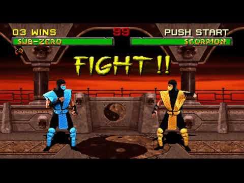 (Arcade Kollection) Mortal Kombat 2 Sub Zero Klassic Tower |