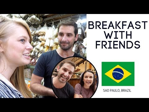 Breakfast in Brazil and Sao Paulo AirBnb Tour (ft. Travel and Share)