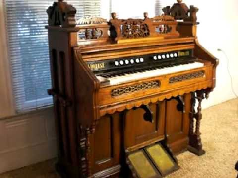 Moline Pump Reed Organ. (Chapel Style.)
