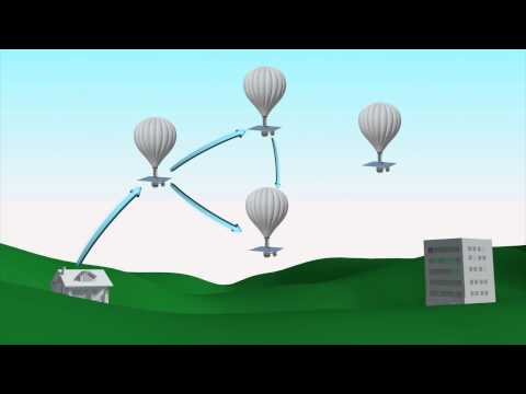 Google Project Loon internet balloons tested in Australia