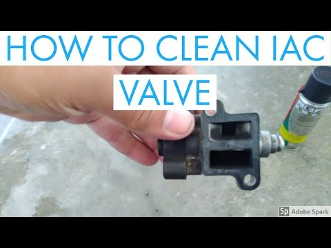 HOW TO CLEAN IDLE AIR CONTROL VALVE (IACV) FOR HYUNDAI EON (ENGLISH)