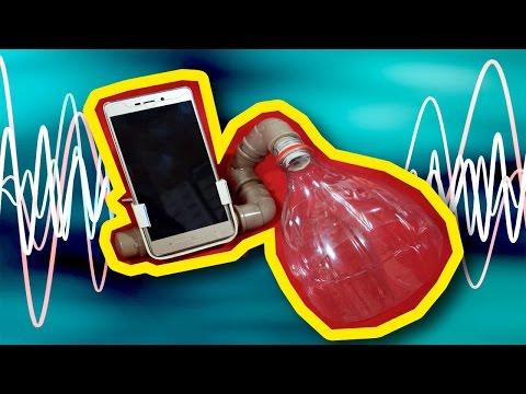 Amplificador de som para smartphone!