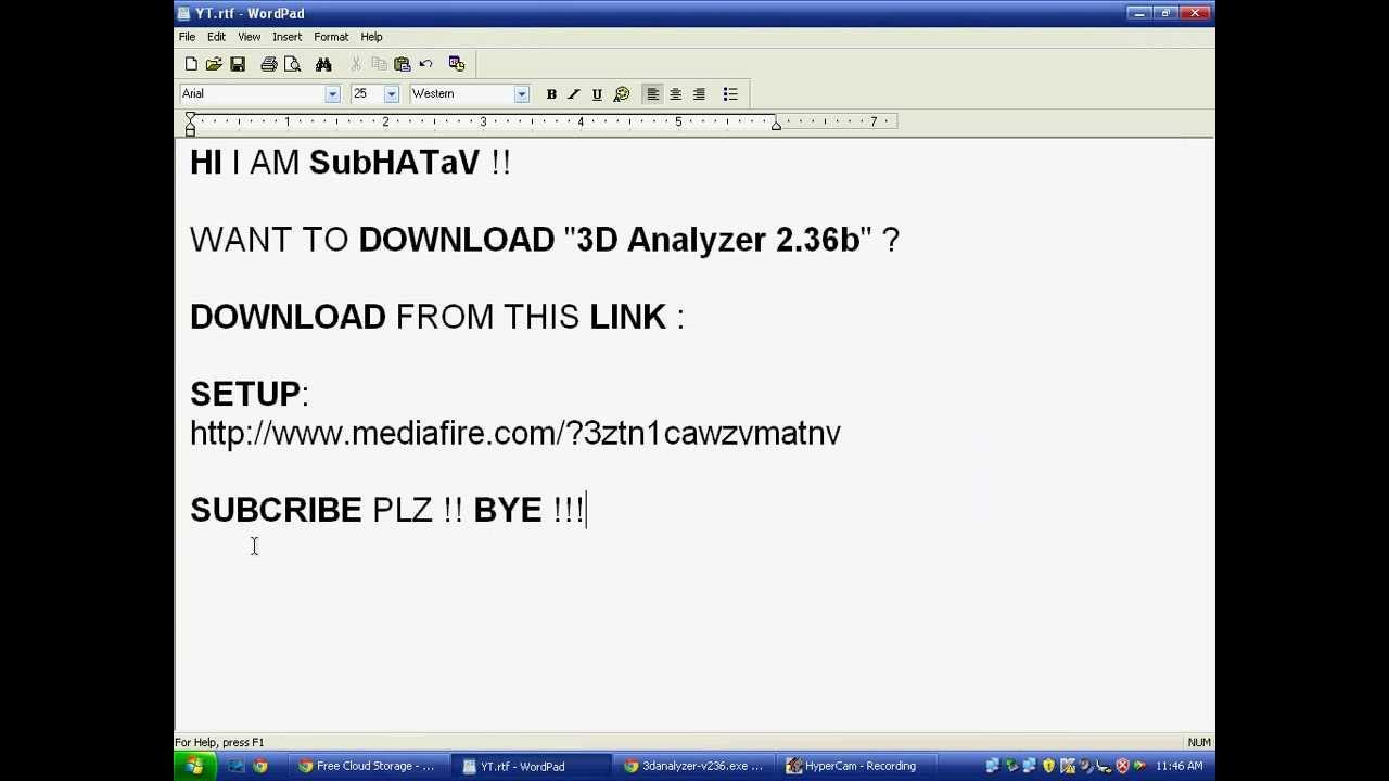 3d analyze 2.37b