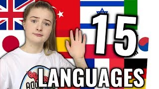 Girl speaks 15 Languages