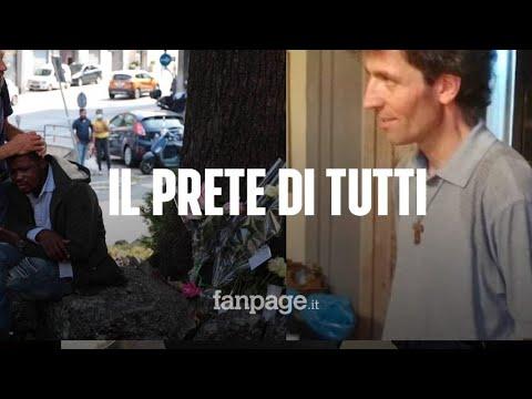 Como, il prete degli ultimi ucciso in strada da chi aiutava: 'Italiani o stranieri, c'era per tutti'