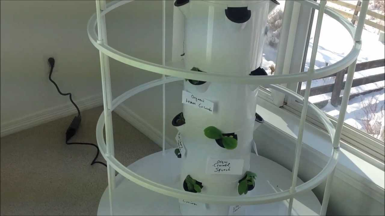 indoor tower garden. Indoor Tower Garden A
