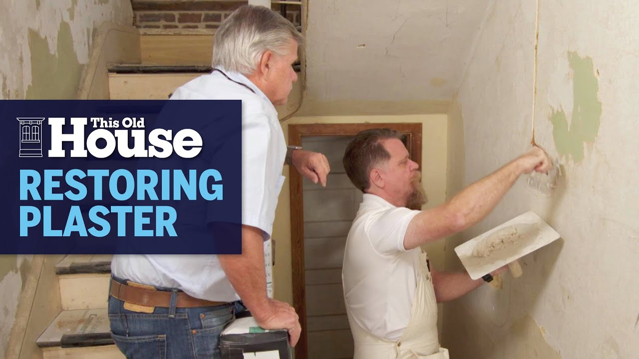 How to Save Old Plaster | This Old House