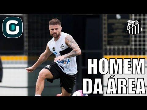Sem Gabigol, Sasha Assume Ataque Do Santos Na Libertadores- Gazeta Esportiva (03/04/18)