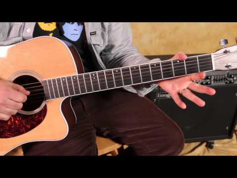 Faces - Ooh La La - How To Play On Acoustic Guitar - Acoustic Songs