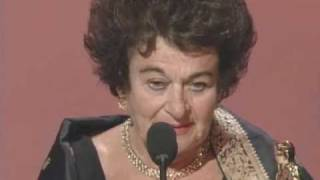 Memorable Oscar® acceptance speech
