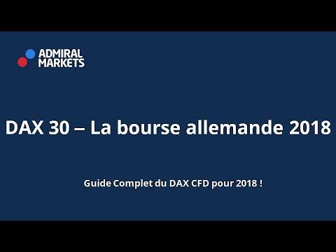 DAX 30 - La bourse allemande 2018 guide complet 2018