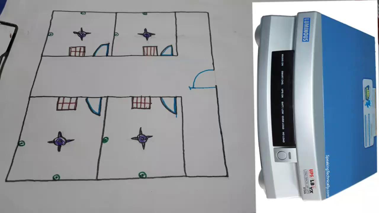 Inverter wiring & installations in hindi (Hindi/Urdu)-YouTube SEO Electro on