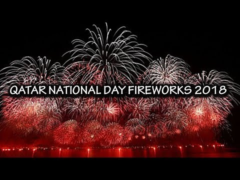Qatar national day fireworks 2018 doha corniche