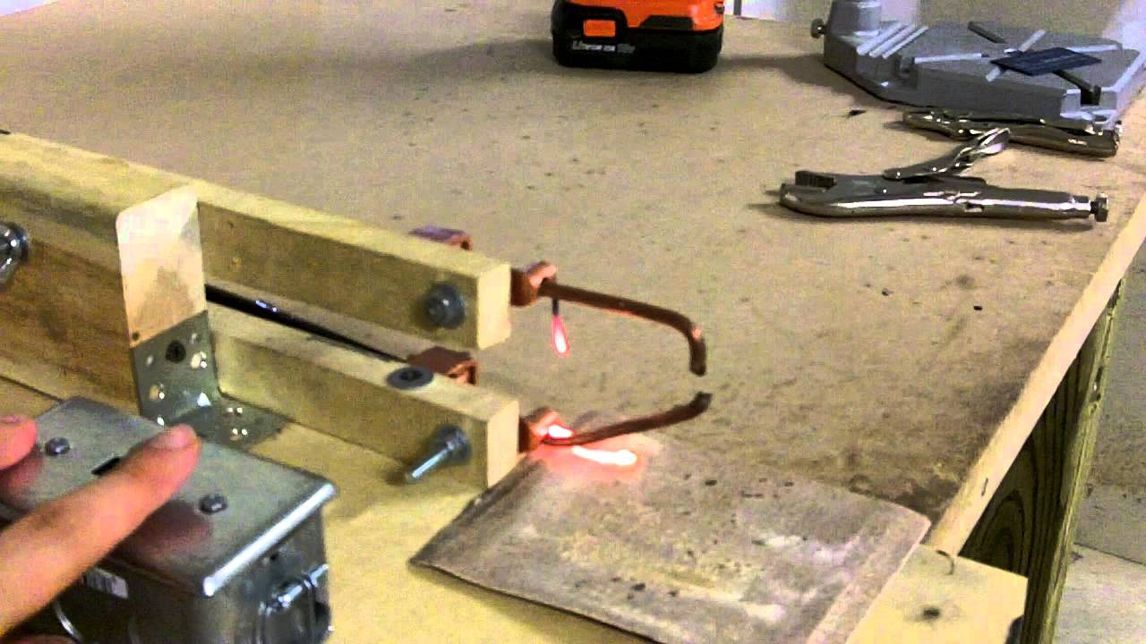 how to make a welding machine