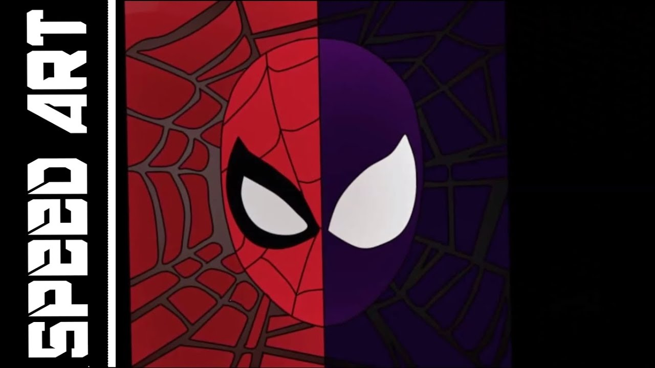 spiderman black and red - 1280×720