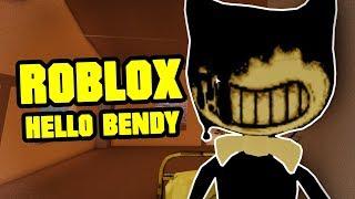 Hello Bendy 2 - HELLO NEIGHBOR ROBLOX