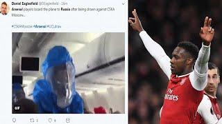 Arsenal face CSKA Moscow in the Europa League quarter-final