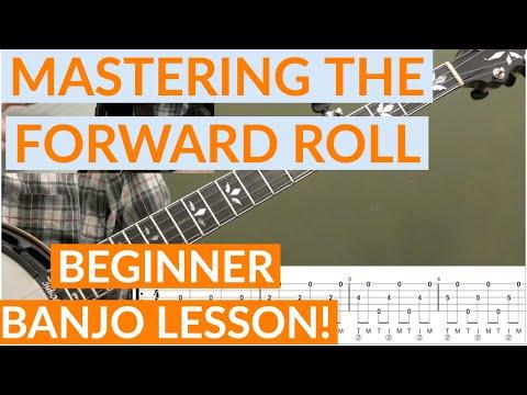 Mastering The Forward Roll Beginner Banjo Lesson