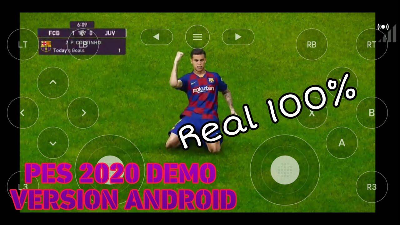 Tải và trải nghiệm Pes 2020 Demo Ps4 version Android, đồ họa cực đẹp